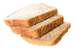 Slices of wheat bread Stock Image