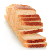 Slices of white bread Royalty Free Stock Photo