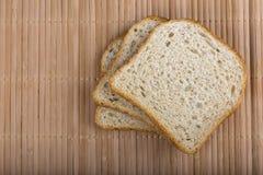 Slices of white bread Stock Photo