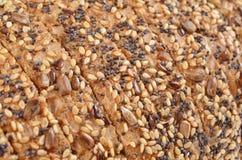 Slices whole grain bread Stock Image