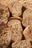 Slices of wholemeal bread Royalty Free Stock Images