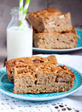 Slices of wholemeal cake Royalty Free Stock Photography