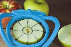 Free Slicing Apples Royalty Free Stock Image - 27941566