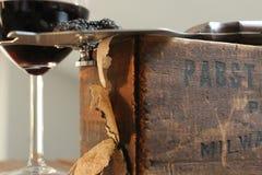 Slicing Black Summer Truffles Stock Image
