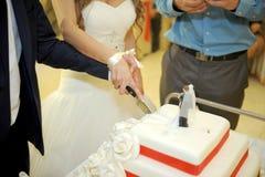 Slicing Cake Royalty Free Stock Photo