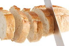 Slicing loaf Stock Photography
