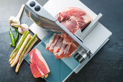 Slicing machine Stock Photography