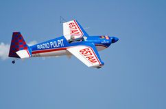 Slick 360 fly past Royalty Free Stock Photo
