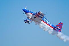 Slick 360 flying heavenwards Stock Image