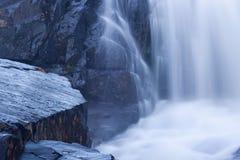 Slick Rock Ledge Waterfall Stock Image