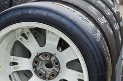racing tires Royalty Free Stock Photos