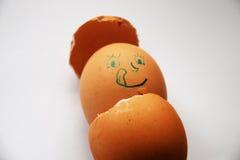 SLICKA MUNNEN: Födelse av ägget Arkivbilder