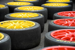 Slicks Royalty Free Stock Photography