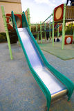 Slid. Playground equipment in a french park Royalty Free Stock Photo
