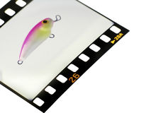 Slide. Lure Royalty Free Stock Photography