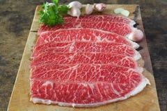 Slide chuck beef Royalty Free Stock Photos