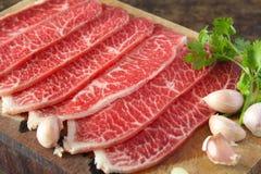 Slide chuck beef Stock Photography