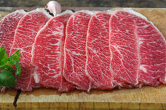 Slide chuck beef Stock Photo