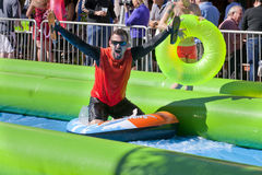 Slide the City - West Palm Beach Stock Image