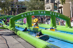Slide the City - West Palm Beach Stock Photography
