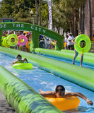 Slide the City - West Palm Beach Royalty Free Stock Photos