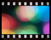 Slide colorful banner Stock Photography