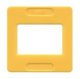 Slide film mount frame Royalty Free Stock Images