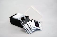 Slide Film Photography. Colour Slide film photography. Box of slide photos Royalty Free Stock Image