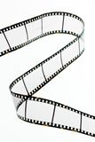 Slide film strips with empty frames Royalty Free Stock Photos
