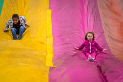 Slide fun Royalty Free Stock Photography