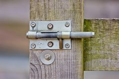 Slide Lock Royalty Free Stock Images