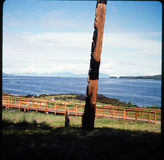 Slide 35 mm to photograph. Family vacation through Utah, Colorado and Alaska cruise Royalty Free Stock Photos