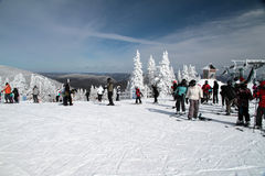 Slide On Mount Tremblant 2 Royalty Free Stock Photography