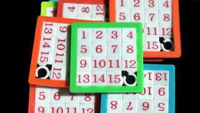 Slide Number Puzzle. Toys. Game Stock Photography
