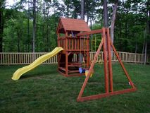 Slide play area Royalty Free Stock Photos