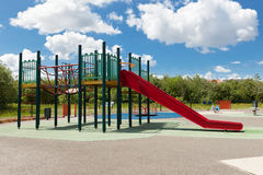 Slide on the playground Royalty Free Stock Photography