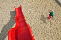 Slide playground background Stock Photos