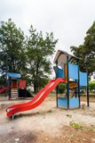 Slide in playground Stock Photos