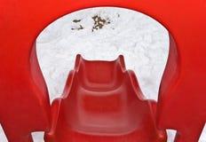 Slide on playground royalty free stock photo
