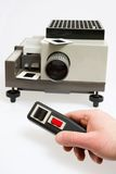 Slide projector Stock Images