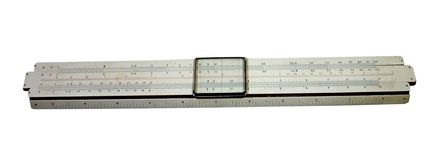 Slide Rule Stock Photography