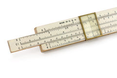 A slide rule Royalty Free Stock Photography
