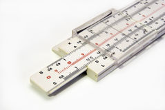 Slide rule Royalty Free Stock Image