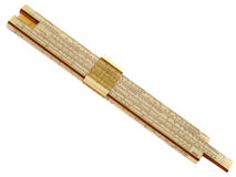 Slide rule Royalty Free Stock Photo