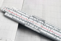 Slide rule Royalty Free Stock Photos