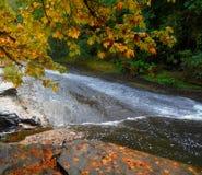 Third Slide. Slide section number three of Lake Creek Falls - near Triangle Lake, OR - Coast Range Royalty Free Stock Image