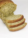 Slide spinach bread 3 Stock Photos