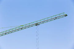 Slider of crane on for construction Stock Photography