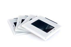 Slides. Isolated on white background Royalty Free Stock Photos