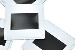 Slides. Isolated slides close-up photo Stock Photography